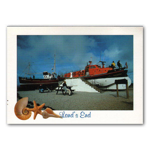 Land's End - Sold in pack (100 postcards)