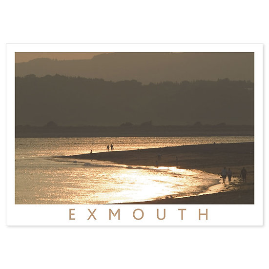 Exmouth The Estuary - Sold in pack (100 postcards)
