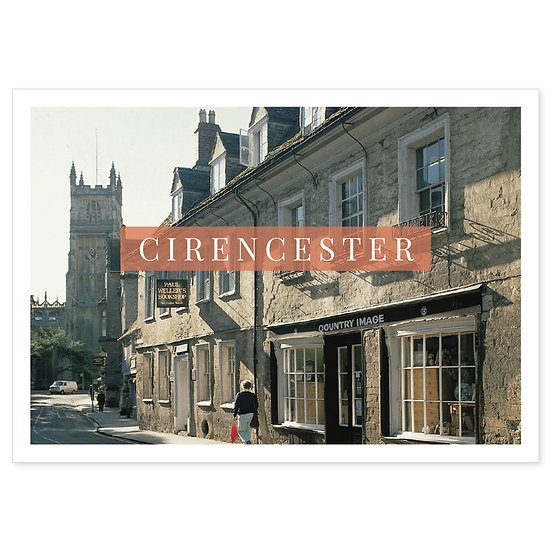 Circencester - Sold in pack (100 postcards)