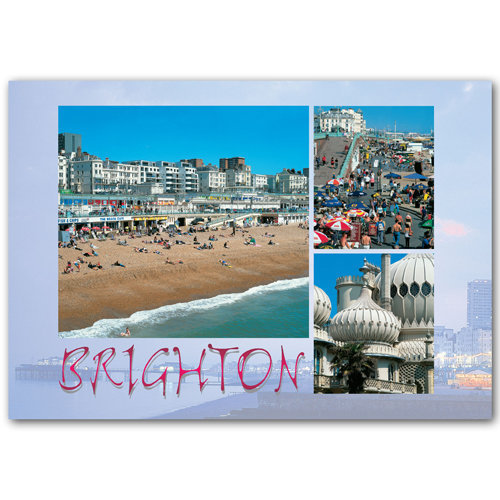 Brighton Comp - Sold in pack (100 postcards)