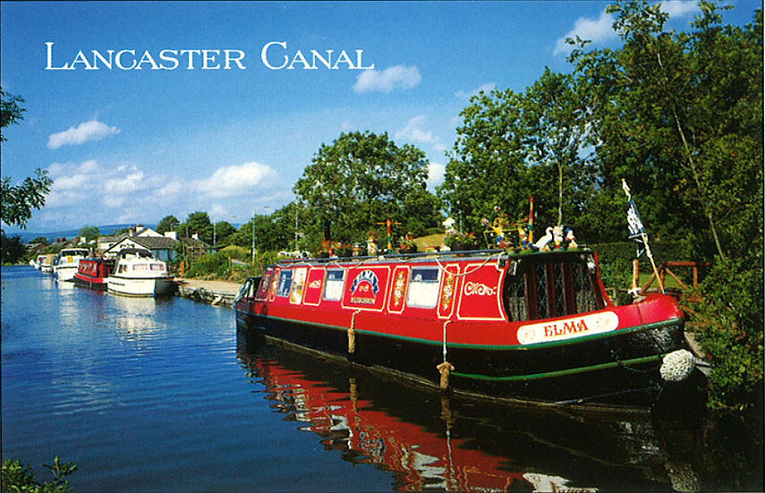 Lancaster Canal - Sold in pack (100 postcards)