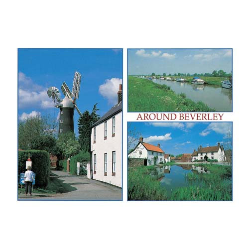 Beverley Around Comp - Sold in pack (100 postcards)