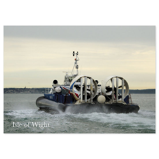 Isle of Wight Hovercraft - Sold in pack (100 postcards)