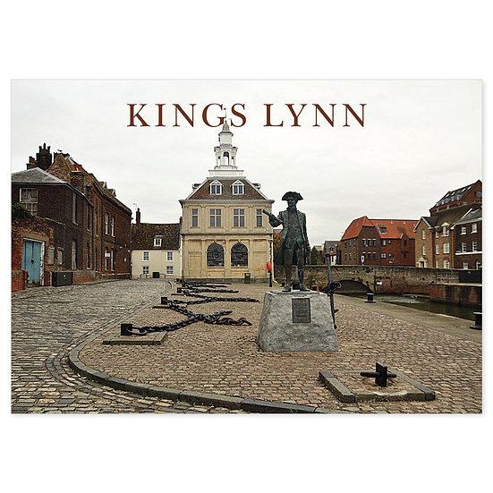 Kings Lynn Statue - Sold in pack (100 postcards)