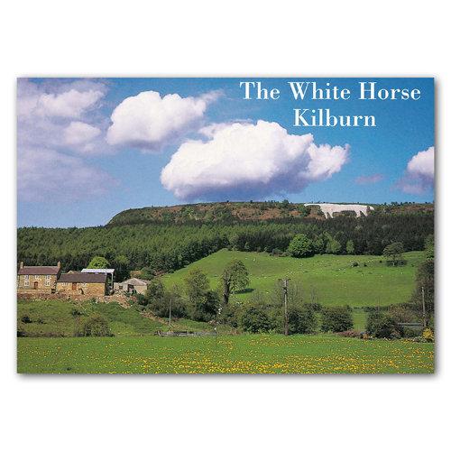 Kilburn White Horse - Sold in pack (100 postcards)