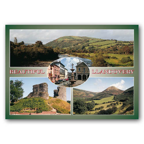 Llandovery Beautiful - Sold in pack (100 postcards)