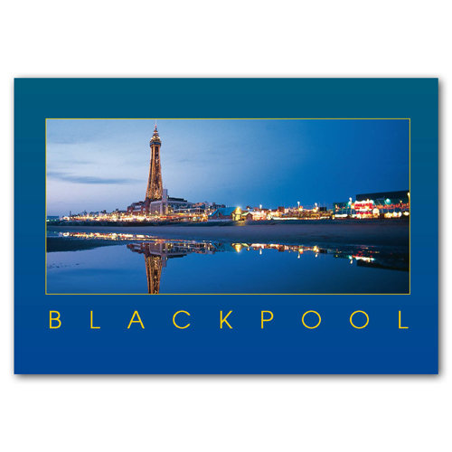 Blackpool - Sold in pack (100 postcards)