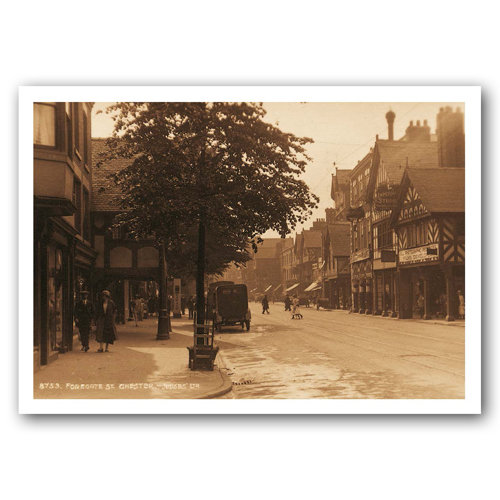 Chester Foregate Street - Sold in pack (100 postcards)