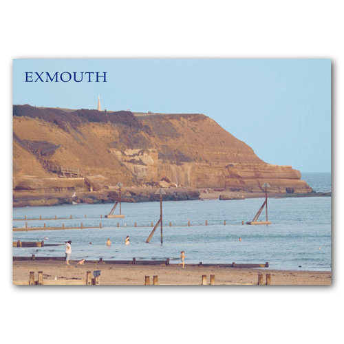 Exmouth Orcombe Point - Sold in pack (100 postcards)