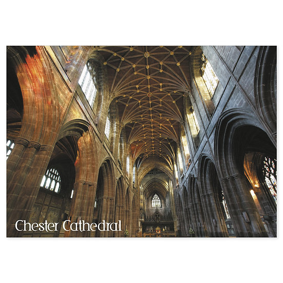 Chester Cathedral Inner - Sold in pack (100 postcards)