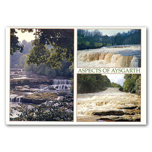 Aysgarth Falls - Sold in pack (100 postcards)