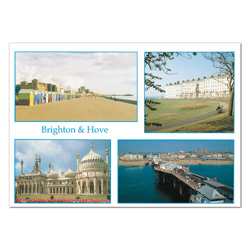 Brighton & Hove - Sold in pack (100 postcards)