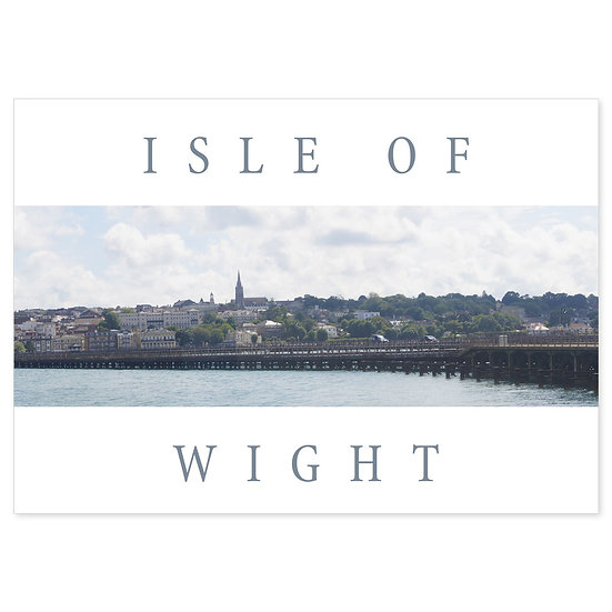 Isle of Wight Ryde - Sold in pack (100 postcards)