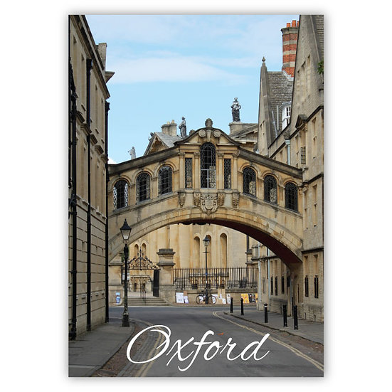Oxford Bridge - Sold in pack (100 postcards)