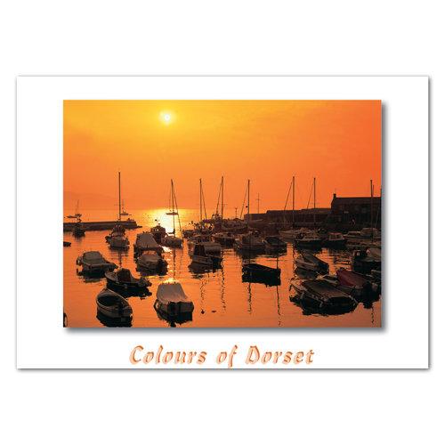 Dorset Just Lyme Regis - Sold in pack (100 postcards)