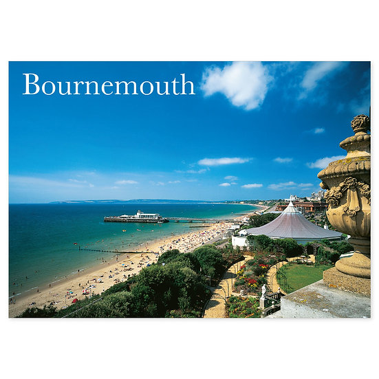 Bournemouth Sea View - Sold in pack (100 postcards)