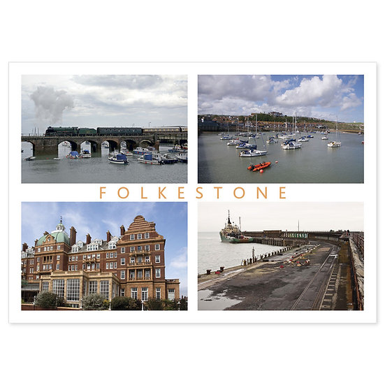Folkestone Compilation - Sold in pack (100 postcards)
