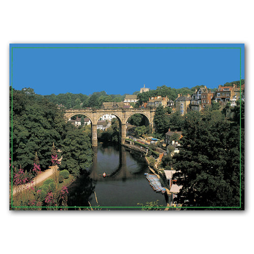 Knaresborough River Nidd - Sold in pack (100 postcards)