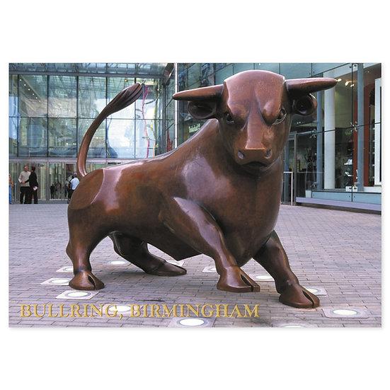 Birmingham Bull Ring - Sold in pack (100 postcards)