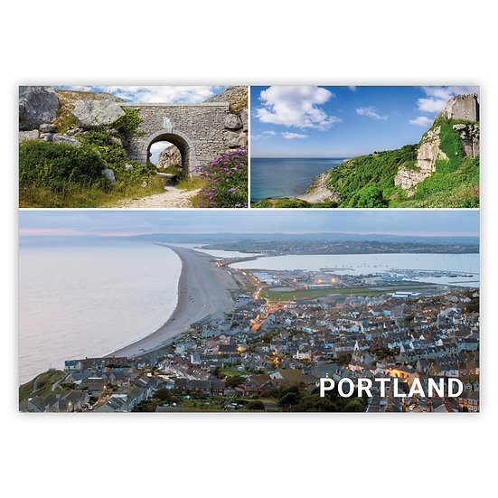 Portland 3 View Comp - Sold in pack (100 postcards)