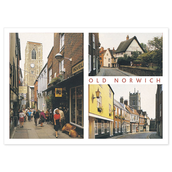 Norwich Old Comp - Sold in pack (100 postcards)