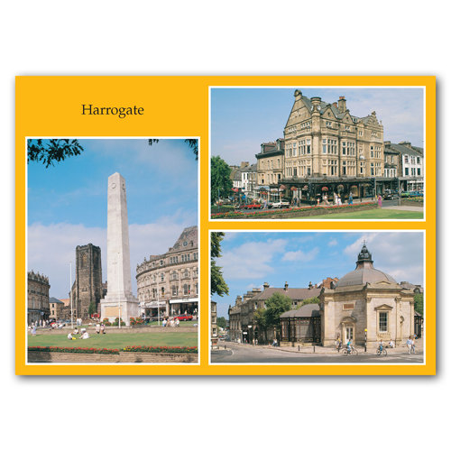 Harrogate 3 View Comp - Sold in pack (100 postcards)