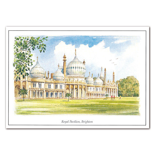 Brighton Royal Pavilion - Sold in pack (100 postcards)