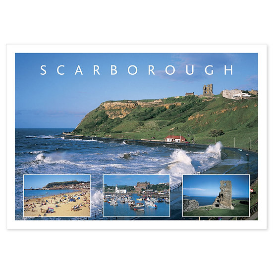 Scarborough Coast - Sold in pack (100 postcards)