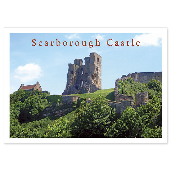 Scarborough Castle - Sold in pack (100 postcards)