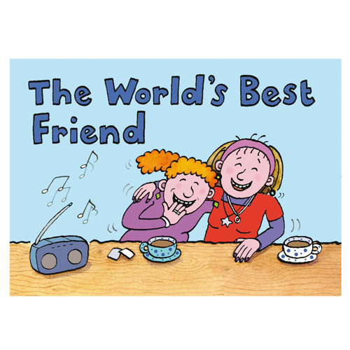World's Best Friend - Sold in pack (100 postcards)