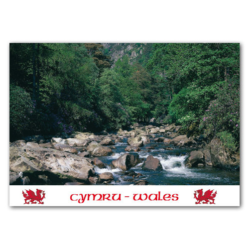 Aberglaslyn - Sold in pack (100 postcards)