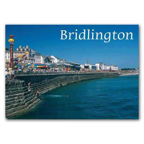 Bridlington Parade Funfair - Sold in pack (100 postcards)