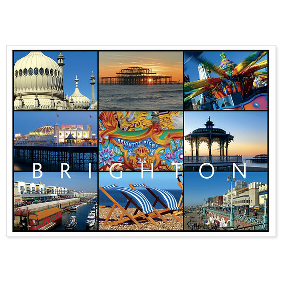 Brighton Compilation - Sold in pack (100 postcards)