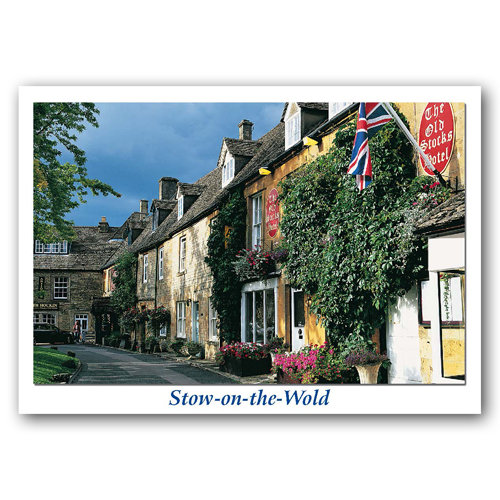 Stow on the Wold - Sold in pack (100 postcards)