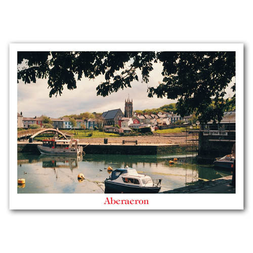 Aberaeron - Sold in pack (100 postcards)