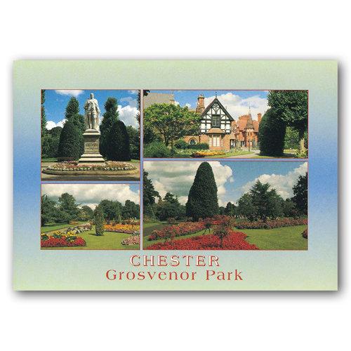 Chester Grosvenor Park - Sold in pack (100 postcards)