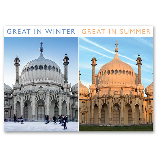 Brighton through the seasons - Sold in pack (100 postcards)