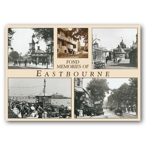 Eastbourne Fond Memories Of - Sold in pack (100 postcards)