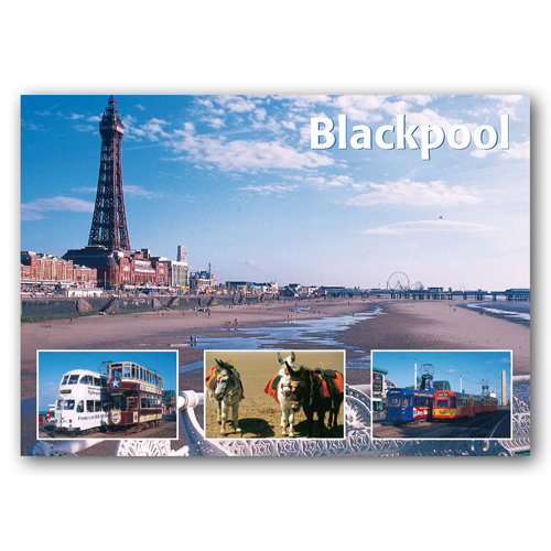Blackpool Comp - Sold in pack (100 postcards)
