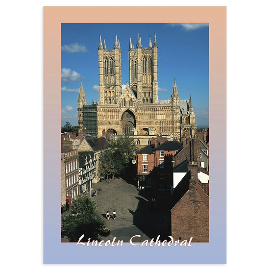 Lincoln Cathedral - Sold in pack (100 postcards)