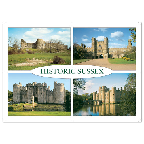 Sussex Historic - Sold in pack (100 postcards)