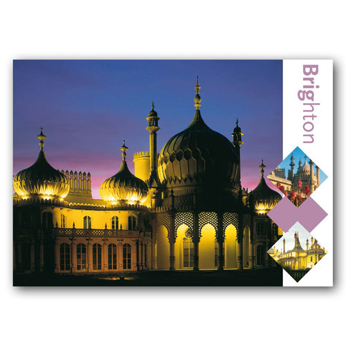 Brighton Pavilion Comp - Sold in pack (100 postcards)