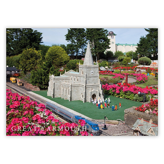 Great Yarmouth, Model Village - Sold in pack (100 postcards)