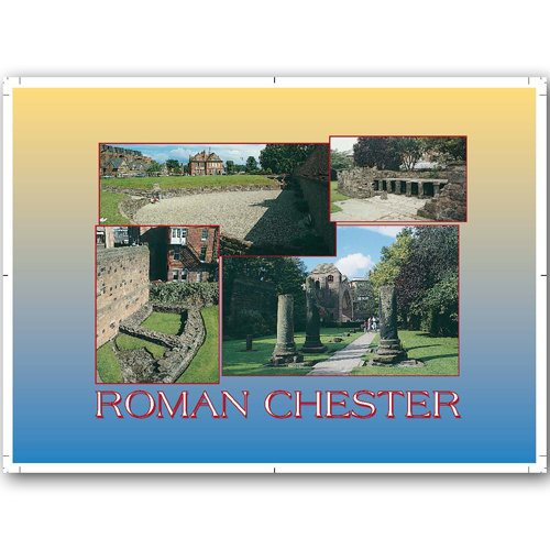 Chester Roman Comp - Sold in pack (100 postcards)