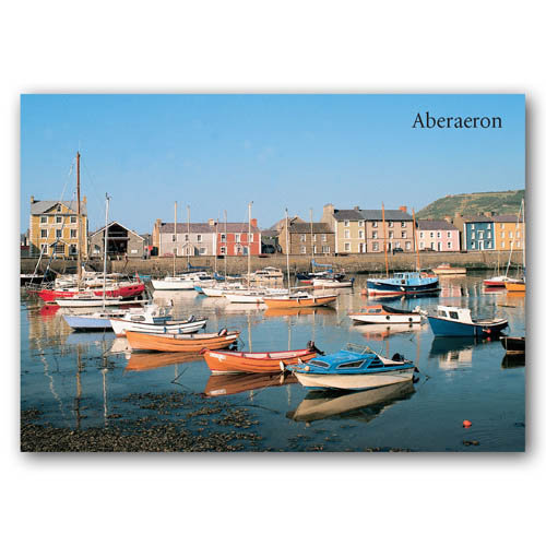 Aberaeron - Sold in pack (100 postcards)