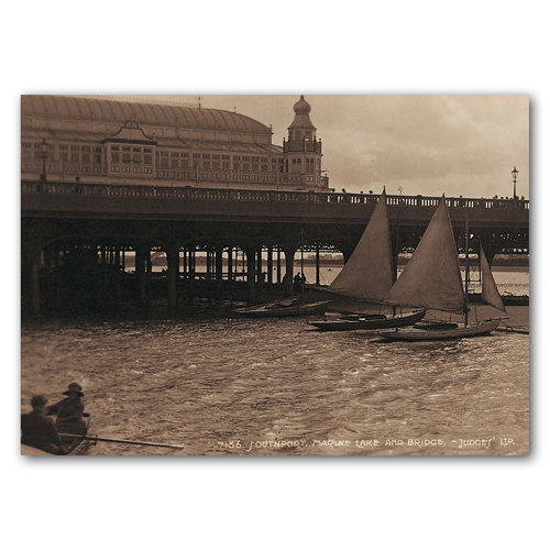 Southport Sepia No 8 - Sold in pack (100 postcards)