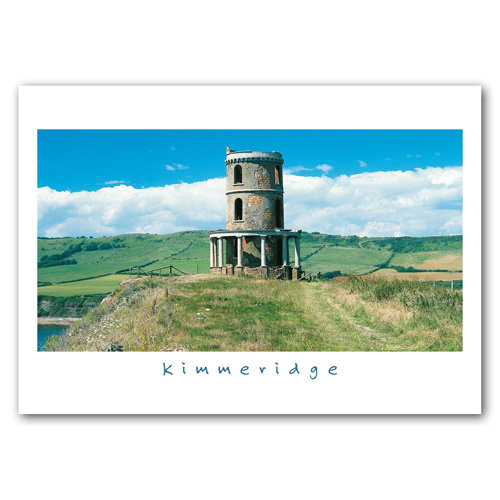 Kimmeridge Clavell Tower - Sold in pack (100 postcards)