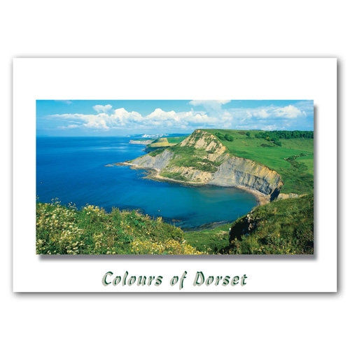 Dorset Just Chapmans Pool - Sold in pack (100 postcards)