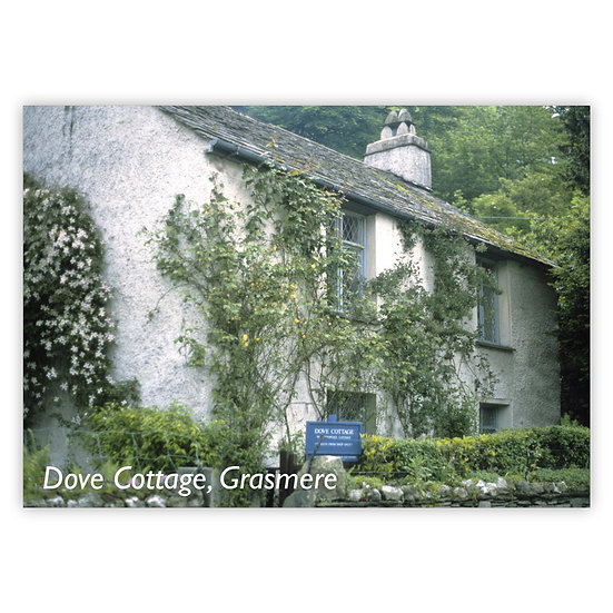 Grasmere Dove Cottage - Sold in pack (100 postcards)