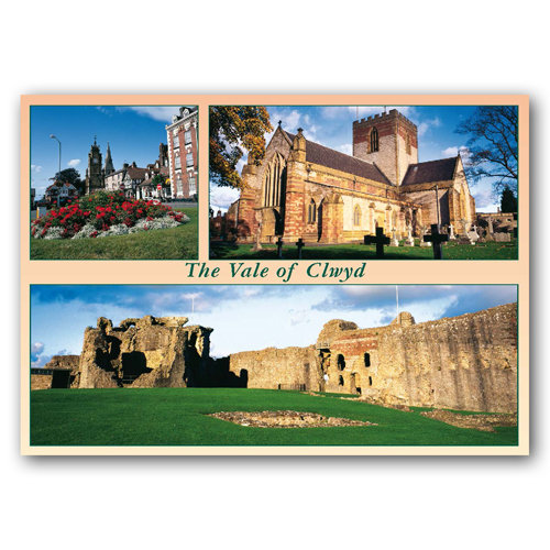 Clwyd Vale of - Sold in pack (100 postcards)